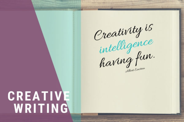 """Creativity is intelligence having fun."""